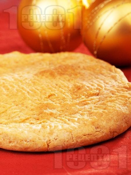 Обикновенна коледна питка със сода (без мая) - снимка на рецептата